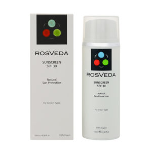 ROSVEDA SUNSCREEN ΑΝΤΙΗΛΙΑΚΟ SPF 30 120ML
