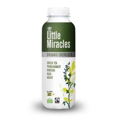 LITTLE MIRACLES ΠΡΑΣΙΝΟ ΤΣΑΪ ΜΕ GINSENG, ACAI & ΧΥΜΟ ΡΟΔΙΟΥ