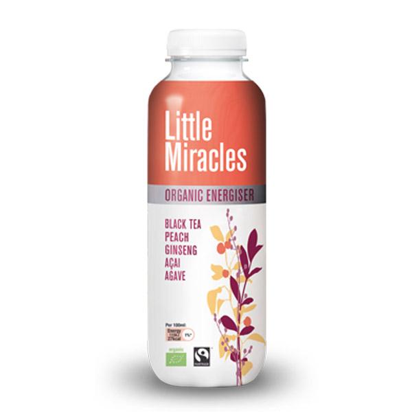 LITTLE MIRACLES ΜΑΥΡΟ ΤΣΑΪ ΜΕ GINSENG, ACAI & ΡΟΔΑΚΙΝΟ