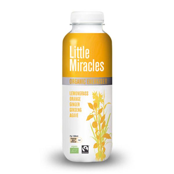 LITTLE MIRACLES ΤΣΑΪ ΛΕΜΟΝΟΧΟΡΤΟΥ ΜΕ GINGER ΚΑΙ ΧΥΜΟ ΠΟΡΤΟΚΑΛΙΟΥ