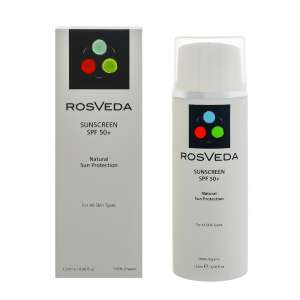 ROSVEDA SUNSCREEN ΑΝΤΙΗΛΙΑΚΟ SPF 50+ 120ML