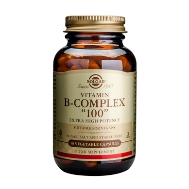 SOLGAR B-COMPLEX 100/50CAPS