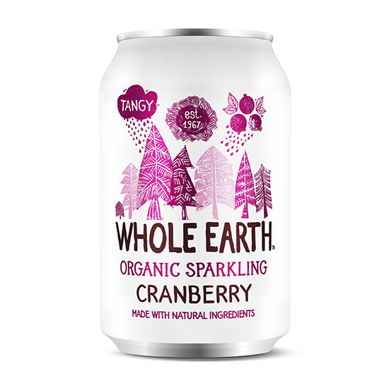WHOLE EARTH ΒΙΟΛΟΓΙΚΗ COLA CRANBERRY