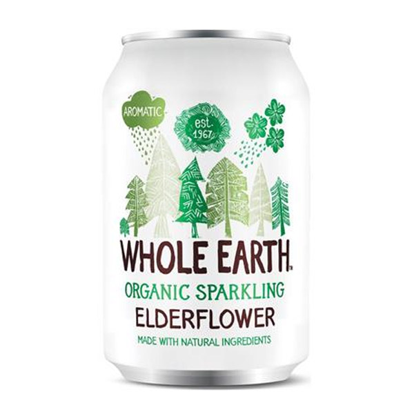 WHOLE EARTH ΑΝΑΨΥΚΤΙΚΟ ELDERFLOWER