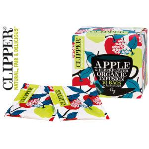 CLIPPER ΤΣΑΪ ΜΕ ΕΚΧΥΛΙΣΜΑ ΜΗΛΟΥ ΚΑΙ ELDERFLOWER