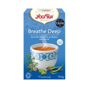 YOGI TEA ΤΣΑΙ BREATHE DEEP