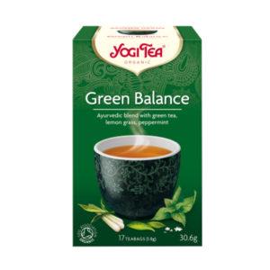 YOGI TEA ΤΣΑΙ GREEN BALANCE