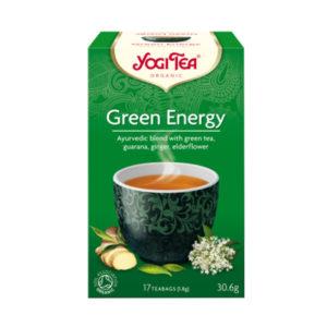 YOGI TEA ΤΣΑΙ GREEN ENERGY
