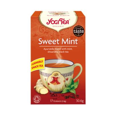 YOGI TEA ΤΣΑΙ SWEET MINT SNACK TEA