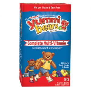HERO YUMMI BEARS MULTIVITAMIN+MINERALS