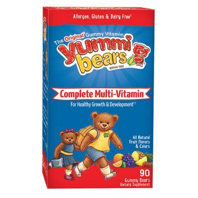 HERO YUMMI BEARS MULTIVITAMIN+MINERALS