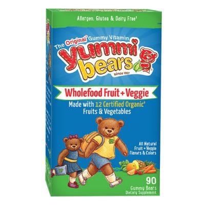 HERO YUMMI BEARS WHOLEFOOD+ANTIOXIDANTS