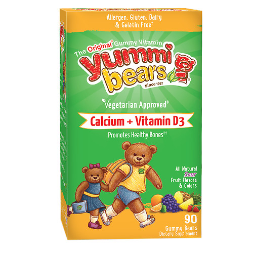 HERO YUMMI BEARS CALCIUM+VIT.D3