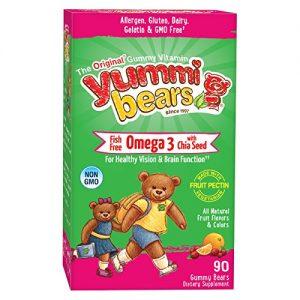 HERO YUMMI BEARS OMEGA 3 WITH CHIA