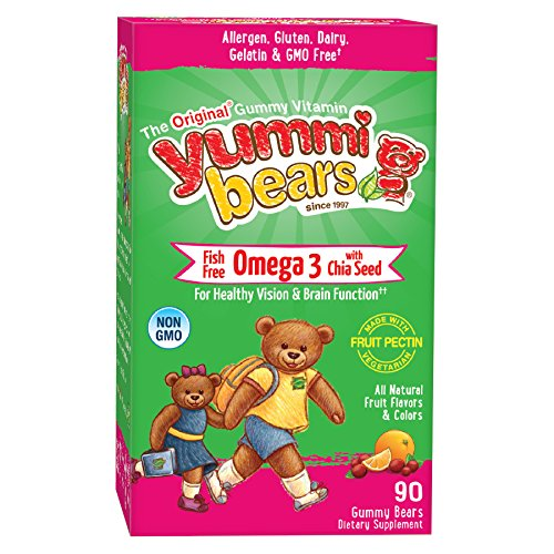 HERO YUMMI BEARS OMEGA 3 WITH CHIA