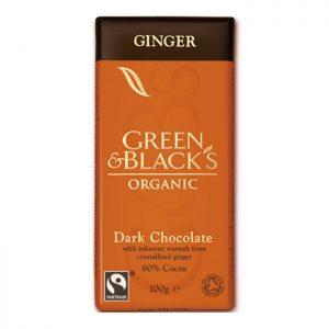 GREEN & BLACK'S ΣΟΚΟΛΑΤΑ ΜΕ ΤΖΙΝΤΖΕΡ
