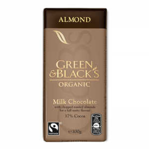 GREEN & BLACK'S ΣΟΚΟΛΑΤΑ ΓΑΛΑΚΤΟΣ ΜΕ ΑΜΥΓΔΑΛΑ