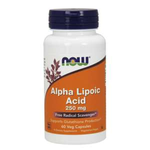 NOW ALPHA LIPOIC ACID 250mg 60VCAPS