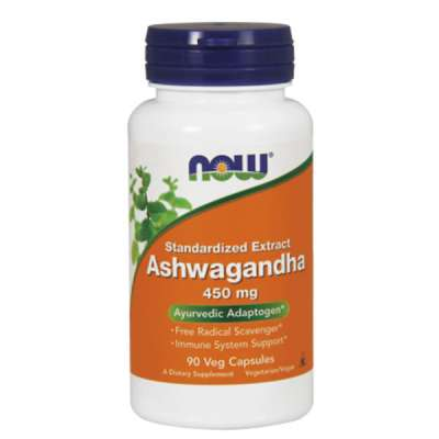 NOW ASHWAGANDHA EXTRACT 450mg/90 VCAPS