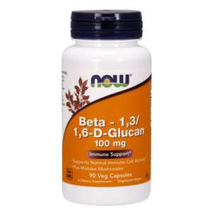 NOW BETA 1,3/1,6-D-GLUCAN 100mg/90 VCAPS