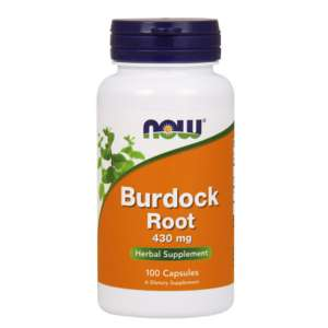 NOW BURDOCK ROOT 430mg/100caps