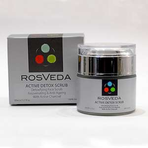 ROSVEDA ACTIVE DETOX SCRUB 50ML