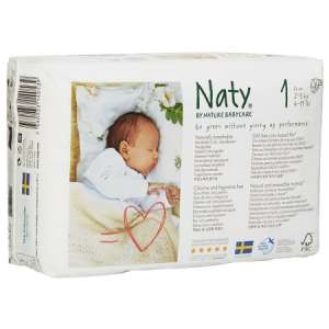 NATY ΠΑΝΕΣ NEW BORN No1 (2-5KΙΛΑ) 26ΤΕΜΑΧΙΑ