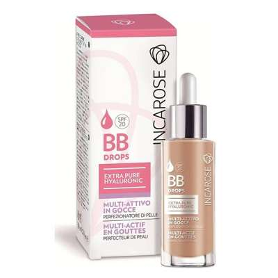 INCA ROSE BB DROPS LIGHT ΣΤΑΓΟΝΕΣ 30ML SPF20