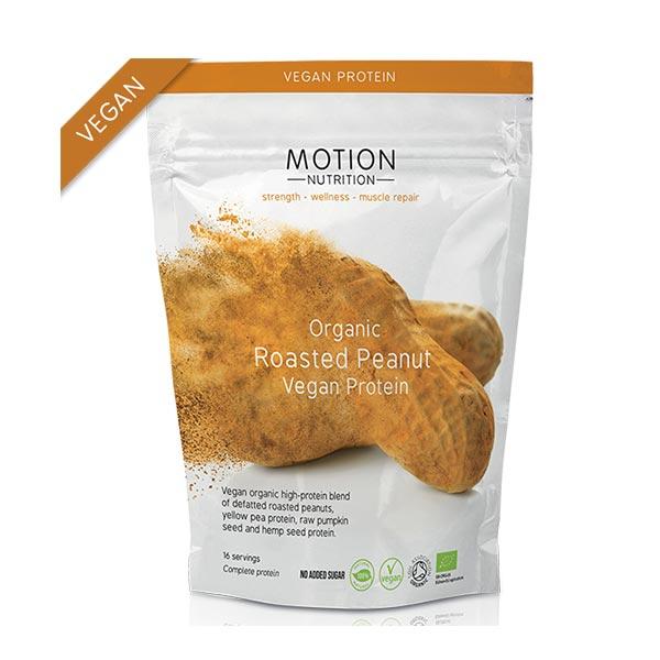 MOTION NUTRITION ΒΙΟΛΟΓΙΚΗ VEGAN ΠΡΩΤΕΪΝΗ ΦΥΣΤΙΚΙΟΥ 400ΓΡ