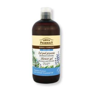 GREEN PHARMACY ΑΦΡΟΛΟΥΤΡΟ ROSEMARY & LAVENDER 500ML