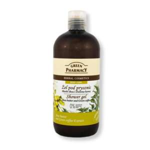 GREEN PHARMACY ΑΦΡΟΛΟΥΤΡΟ SHEA BUTTER & GREEN COFFEE 500ML