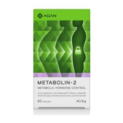 AGAN METABOLIN 2 60 VEGICAPS