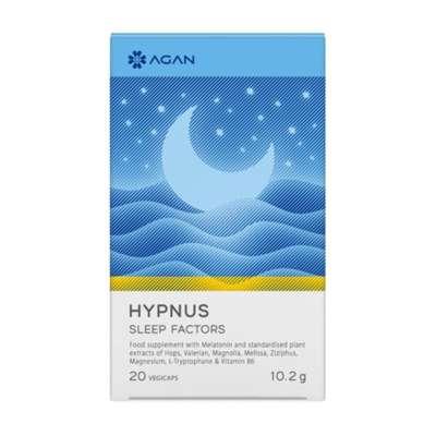 AGAN HYPNUS SLEEP FACTORS 20VEGICAPS