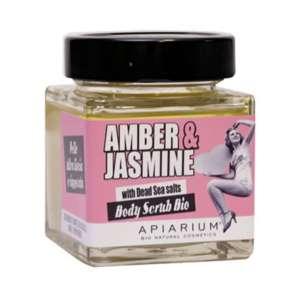 APIARIUM PEELING ΣΩΜΑΤΟΣ AMBER&JASMINE 410GR BIO
