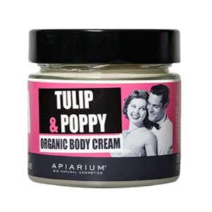 APIARIUM ΚΡΕΜΑ ΣΩΜΑΤΟΣ TULIP & POPPY 200ML BIO