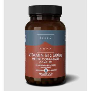TERRANOVA VITAMIN B12 500mg COMPLEX 50 ΚΑΨΟΥΛΕΣ