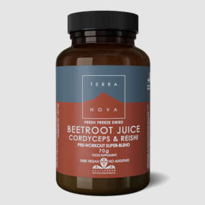TERRANOVA BEETROOT CORDYCEPS & REISHI SUPER-BLEND POWDER 70γρ