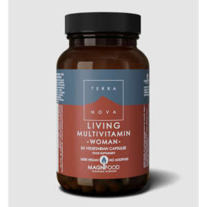 TERRANOVA LIVING MULTIVITAMIN WOMAN 50 ΚΑΨΟΥΛΕΣ
