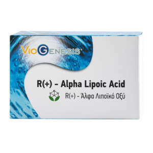 VIOGENESIS ALPHA LIPOIC ACID R(+) 60 caps